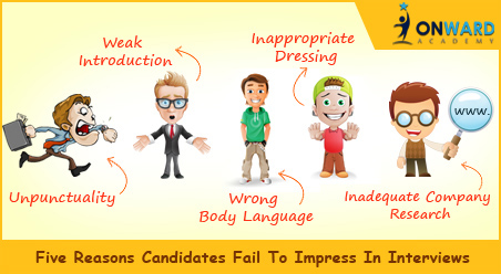 Five Reasons Candidates Fail