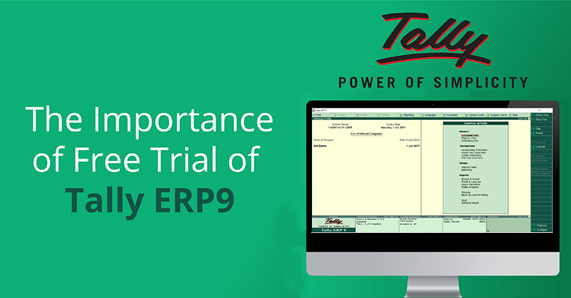 The Importance of Free Trial of Tally ERP9