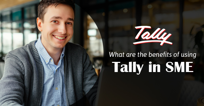 What are the benefits of using Tally in SME?