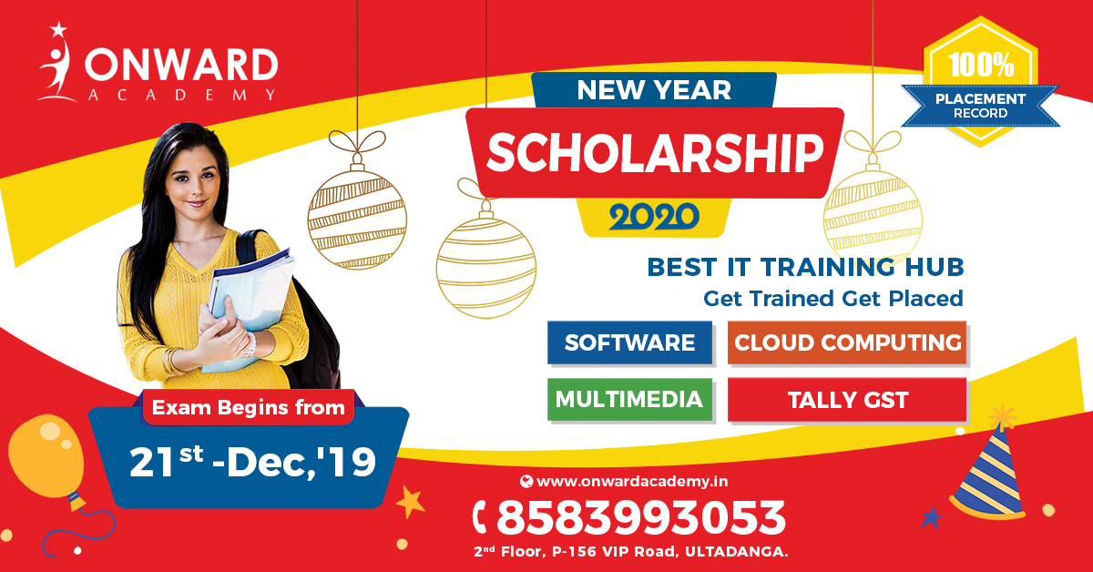 Onward Academy New Year 2020 Scholarship